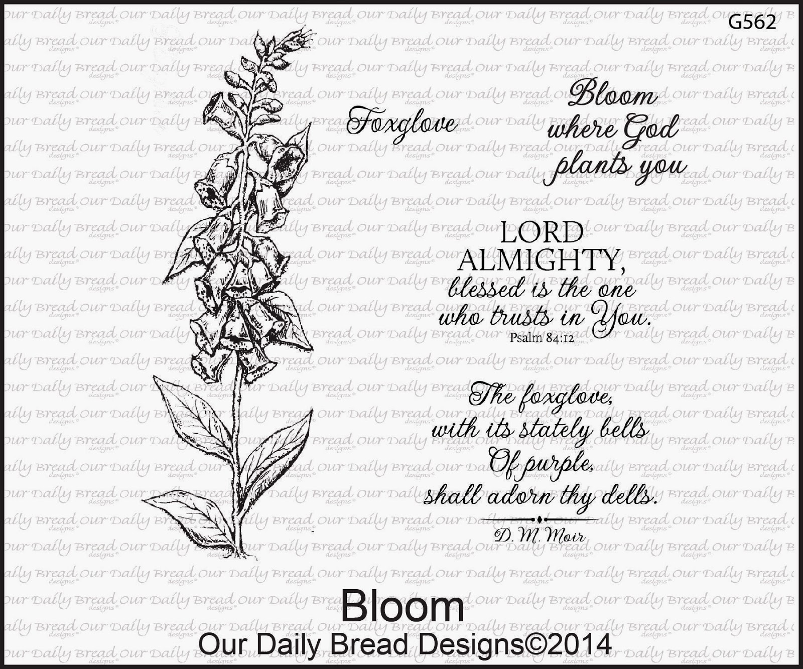 Stamps - Our Daily Bread Designs Bloom