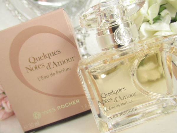 Yves Rocher Quelques Notes d´Amour Review, Duftnoten
