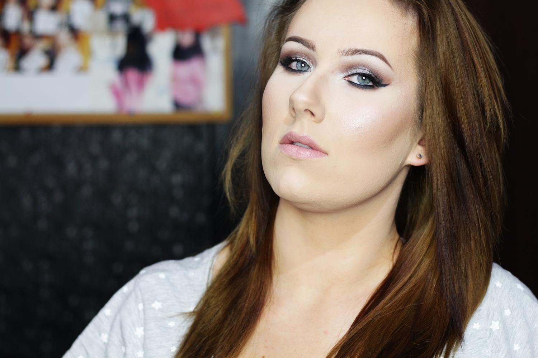 Srebrny pył | Makijaż inspirowany