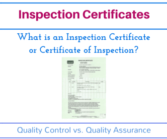 What is an inspection certificate or certificate of inspection on this page i would like to explain inspection certificate in detail yelopaper Images