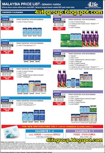foto Senarai Harga 4Life Malaysia (GST kadar Sifar - 0%) (7)