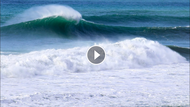 PROs Score Massive Swell at Blacks Beach raw footage