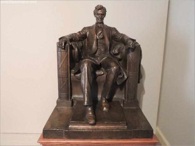 Museo Concord: Abraham Lincoln de Daniel Chester French