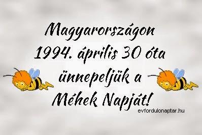 Április 30 - A méhek napja