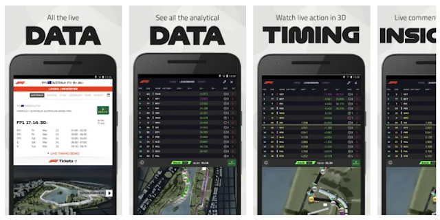 F1 (Formula One) Live Timing Mobile App - YouthApps