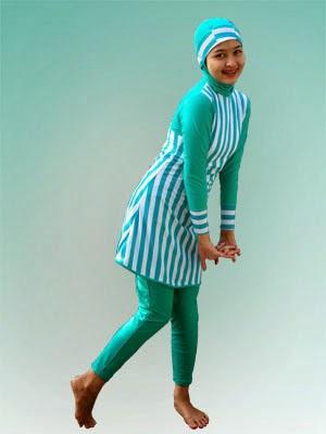 Model Baju Muslim Renang Wanita