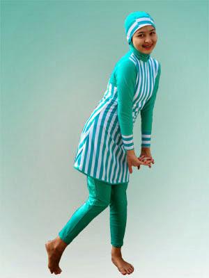 Model Baju Muslim Pantai Untuk Remaja Modern