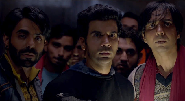 Aparshakti Khurrana and Rajkumar Rao in Stree