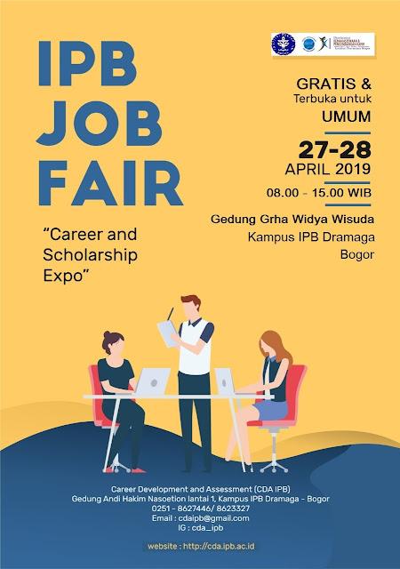 Job Fair IPB Bogor GRATIS!