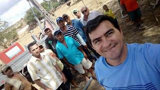 Prefeito Olivânio perfura poços nos bairros de Picuí a pedido de vereadores da base