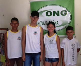 Estudantes representam Baraúna nos Jogos Escolares da Juventude em Natal