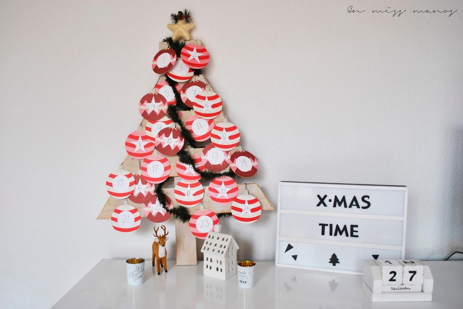 Diy calendario de adviento handbox craft lovers for Calendario adviento ikea