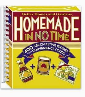 Homemade in No Time Cookbook Giveaway