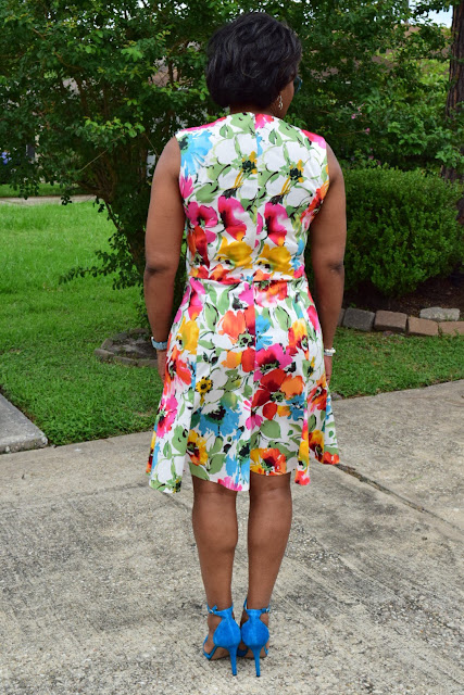 Back of dress...bootstrap patterns.