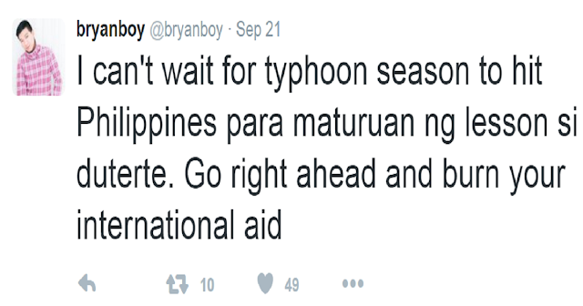 Fashion Blogger Tweets Cruel Wish for Philippines