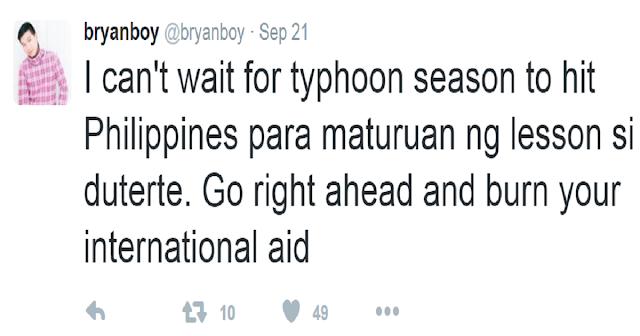 Fashion Blogger Tweets Cruel Wish for Philippines
