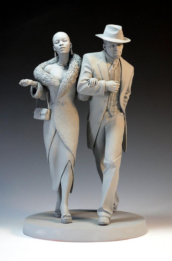 Outstanding Sculptures Mark Newman 100knot