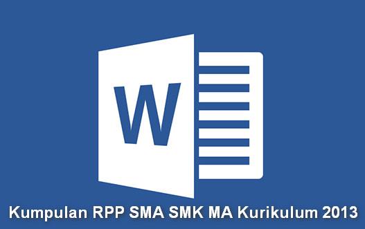 Kumpulan RPP SMA SMK MA Kurikulum 2013
