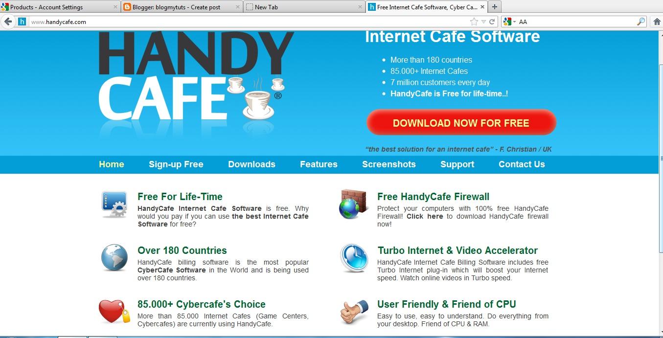 Handy Internet