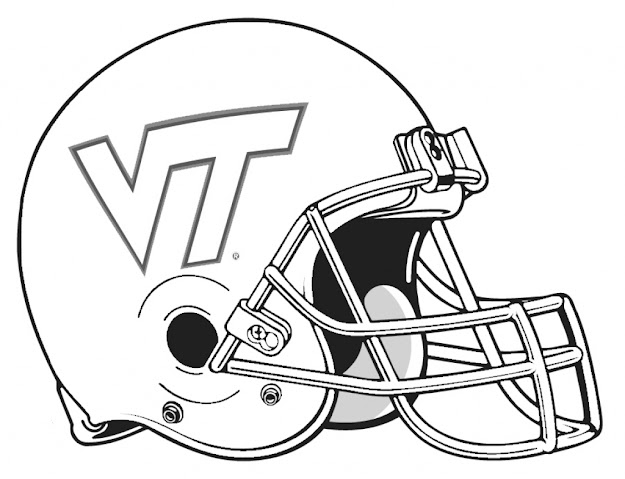Best College Football Coloring Pages Free Prin