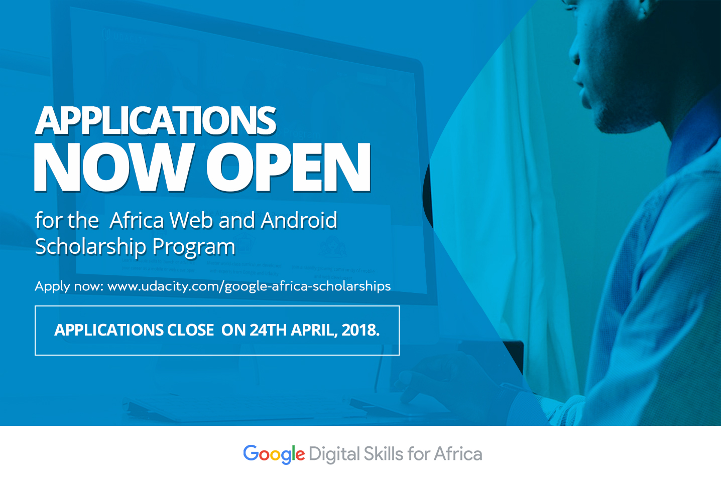 - application 2Bblog2 - Google Developers Blog: Funding 15,000 web and android scholarship in Africa