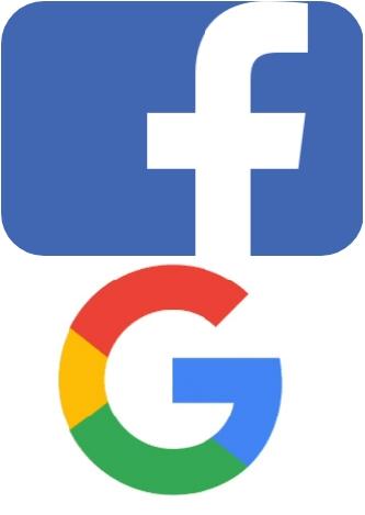 فيسبوك وجوجل لا تزال تقدم أفضل قيمه للمعلنين