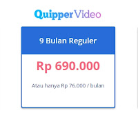 Kode Promosi Quipper Video