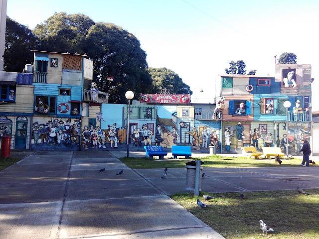 Maqueta de Caminito, La Boca, Buenos Aires