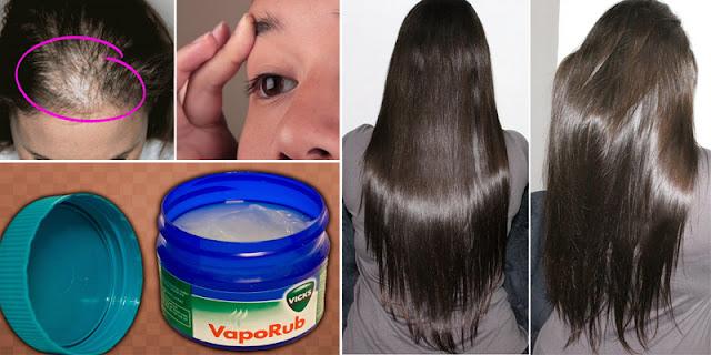Make This Oil With Vicks-Vaporub And Grow Your Hair Like This!