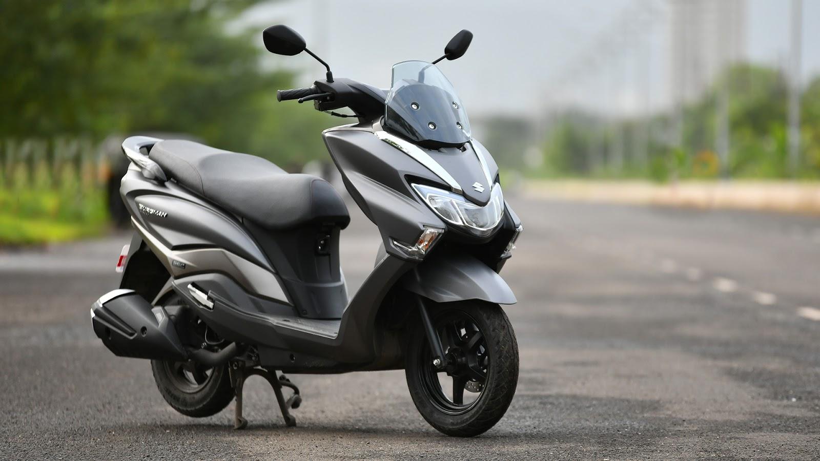 Desain Suzuki Burgman 150 Beredar, Bakal Jadi Pesaing Honda PCX Nih!