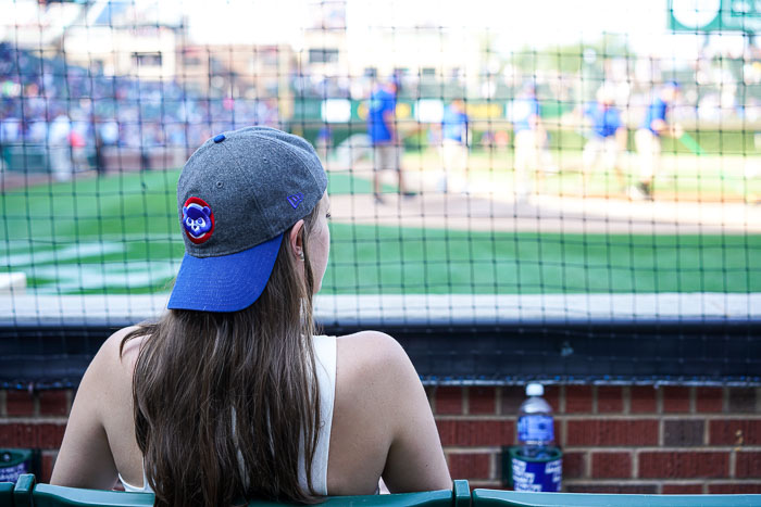 Krista Robertson, Covering the Bases, Travel Blog, NYC Blog, New York & Company, Preppy Blog, Fashion Blog, Travel, Fashion Blogger, Chicago, Illinois, Cubs Game, Baseball Game, Baseball Style, Cubs Stadium, Cooper & Ella Top, Celine Handbag, Travel, Travel Post