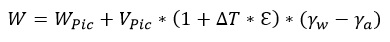 Ecuacion 2 determinacion de peso
