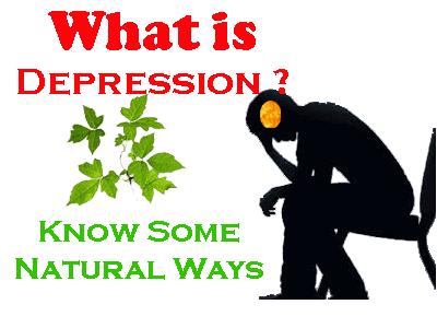 understand depression natural ways
