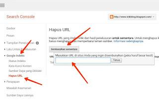 Cara Menghapus Artikel Postingan Blog Agar Baik di Mata Google