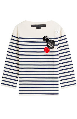 Cotton Breton striped shirt, $328 from Marc by Marc Jacobs