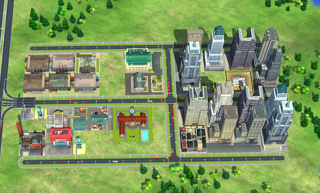 ciudad simcity buildit nivel 9