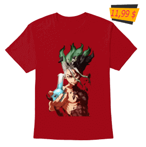 dr stone anime T-shirts