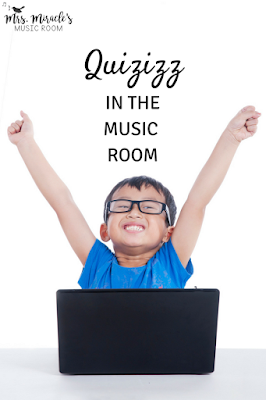 Quizizz in the music room: Includes what Quizizz is, how to find quizzes, how to create, and more! Great for formative assessment in the music room!