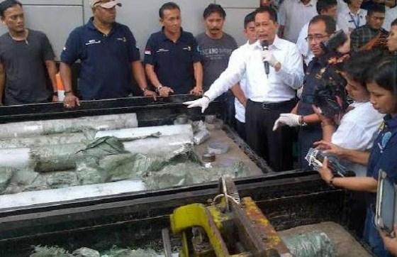 China Penyuplai Terbesar Narkoba ke Indonesia