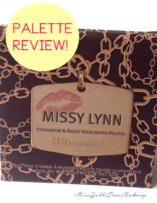 bh cosmetics missy lynn palette review
