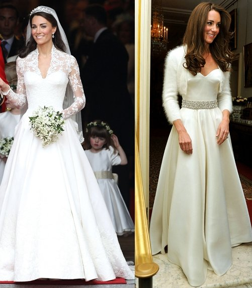 Kate Middleton Wedding Reception Dress