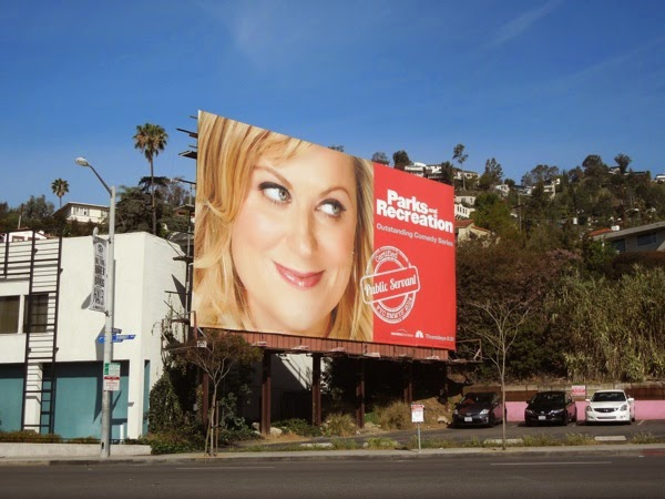 Parks and Recreation Emmy Consideration billboard 2014
