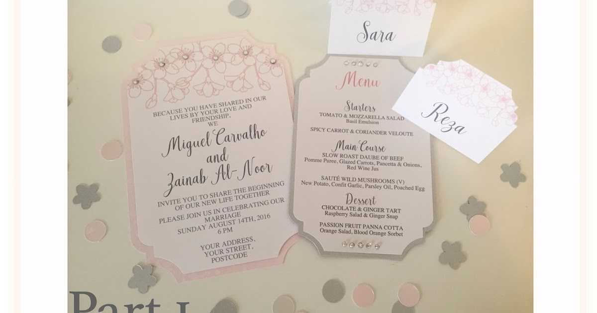 I Want To Design My Own Wedding Invitations: Silhouette UK: Making Your Own Wedding Stationery