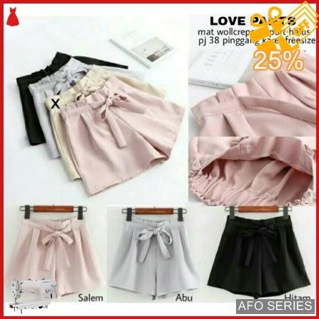 AFO089 Model Fashion Love pants Modis Murah BMGShop