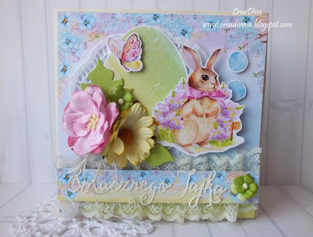 Zając, motyl i jajo / An Easter bunny, a butterfly and an egg