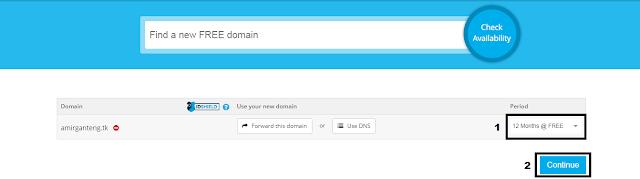 Memilih Periode Domain