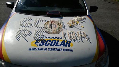Guarda Civil de São Bernardo do Campo apreende drogas no Jardim Nossa Senhora de Fátima