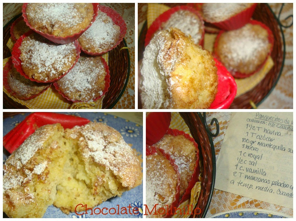 Muffins apple & cinnamon