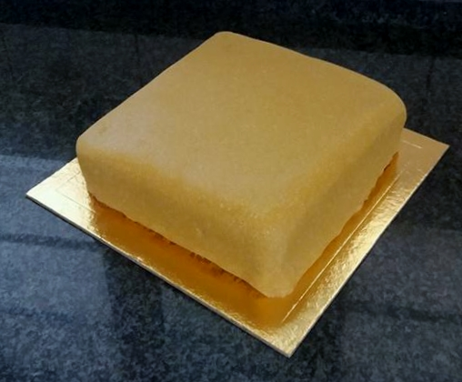 Marzipan on the cake
