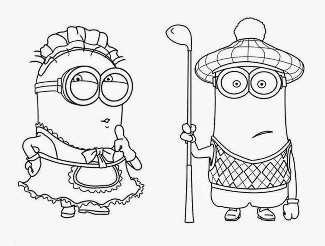 images of coloring pages minions rocking | FUN & LEARN : Free worksheets for kid: Minions Free ...